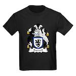 Burnell Family Crest Kids Dark T-Shirt