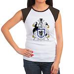 Burnell Family Crest Women's Cap Sleeve T-Shirt