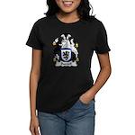 Burnell Family Crest Women's Dark T-Shirt