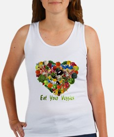 Eat Your Veggies Women's Tank Top
