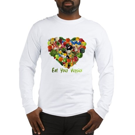 Eat Your Veggies Long Sleeve T-Shirt