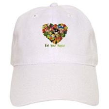 Eat Your Veggies Baseball Cap