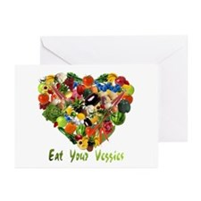 Eat Your Veggies Greeting Cards (Pk of 10)