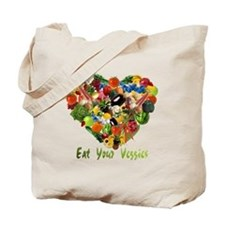 Eat Your Veggies Tote Bag