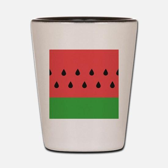 Watermelon Shot Glass