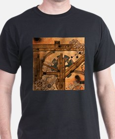 Rusty metal pipes T-Shirt