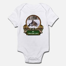 My Grocery list Infant Bodysuit