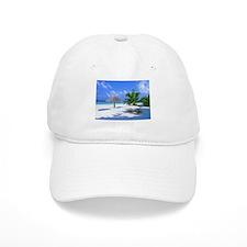 Tropical Beach Baseball Baseball Cap
