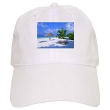 Tropical Beach Baseball Cap