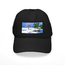 Tropical Beach Baseball Hat