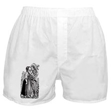 Revolutionary Love illustration Boxer Shorts