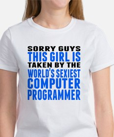 Taken By The Worlds Sexiest Computer Programmer T-