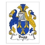 Bugg Family Crest Small Poster