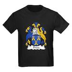 Bugg Family Crest Kids Dark T-Shirt