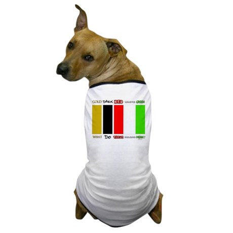 Wordless Book Colors Dog T-Shirt