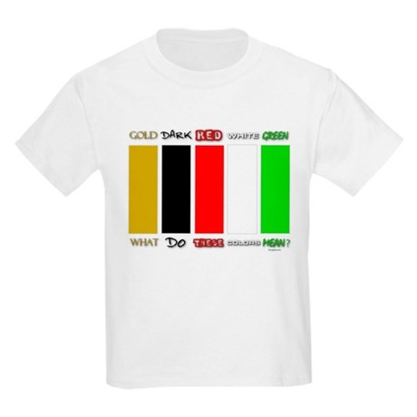 Wordless Book Colors Kids Light T-Shirt