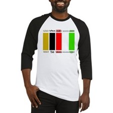 Wordless Book Colors Baseball Jersey