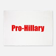 Pro Hillary-Imp red 400 5'x7'Area Rug