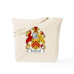 Bucknall Family Crest Tote Bag