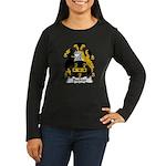 Buckler Family Crest Women's Long Sleeve Dark T-Sh