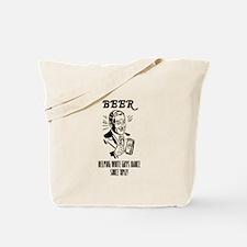beer = dance Tote Bag