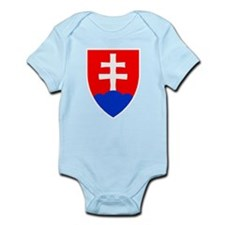 Slovakia Ice Hockey Emblem - Slovak Repu Body Suit