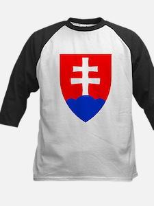 Slovakia Ice Hockey Emblem - Slova Baseball Jersey