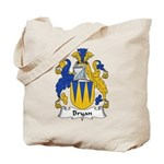 Bryan Family Crest Tote Bag