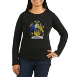 Bryan Family Crest Women's Long Sleeve Dark T-Shir