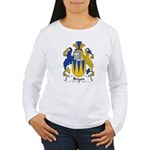 Bryan Family Crest Women's Long Sleeve T-Shirt