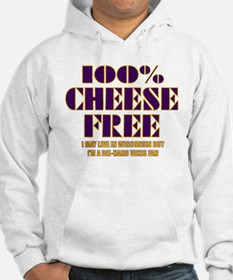 100% Cheese Free - MN Hoodie