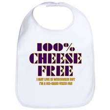 100% Cheese Free - MN Bib