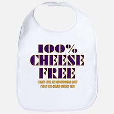 100% Cheese Free - MN Bib