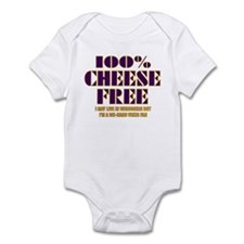 100% Cheese Free - MN Infant Bodysuit