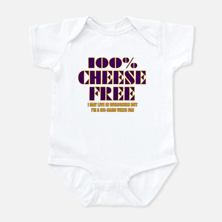 100% Cheese Free - MN Infant Bodysuit