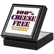 100% Cheese Free - MN Keepsake Box