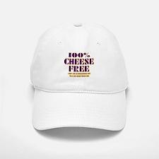100% Cheese Free - MN Baseball Baseball Cap
