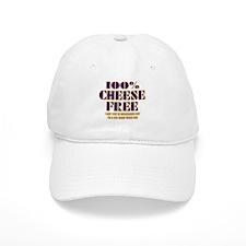 100% Cheese Free - MN Baseball Cap