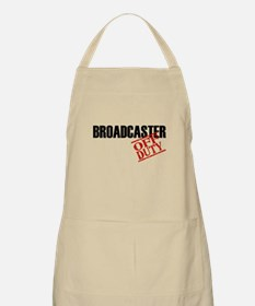 Off Duty Broadcaster BBQ Apron
