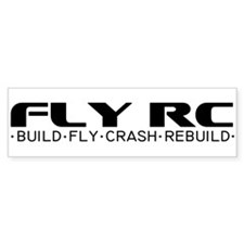 Fly RC Bumper Bumper Sticker