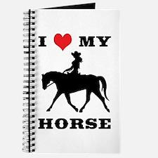 I Heart My Horse w/ Cowgirl Journal