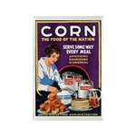 Corn Food of the Nation Rectangle Magnet
