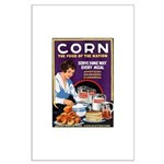 Corn Food of the Nation Large Poster