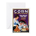 Corn Food of the Nation Greeting Cards (Pk of 20)