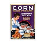 Corn Food of the Nation Postcards (Package of 8)