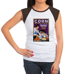 Corn Food of the Nation Women's Cap Sleeve T-Shirt