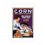 Corn Food of the Nation Rectangle Sticker