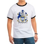Brooksbank Family Crest Ringer T