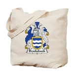 Brooksbank Family Crest Tote Bag