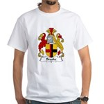 Brooke Family Crest White T-Shirt